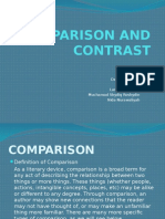 Comparison and Contrast Ppt.