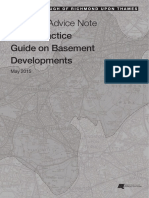 Good Practice Guide Basement Developments May 2015