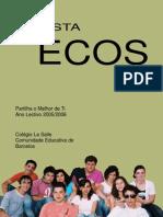 Capa Revista Ecos n.º 15
