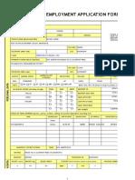 Empolyment Application Form - Ver 1.5(1)
