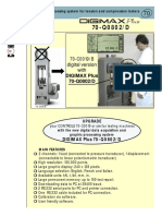 Data Acquisition for Tension and Compression Digimax Plus 76 q0802 c