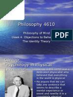 Philosophy 4610 - Week 4(1)