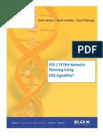 P25 TETRA Network Planning Using EDX SignalPro