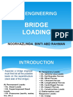 Specification for Loads
