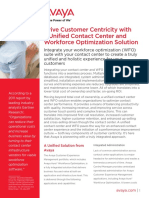 Unify Your Contact Center and Workforce Optimization Solutions Cc7420 01