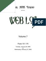 Web Log 07 (151-175)