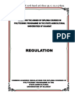 Polytechnic Regulation 2013