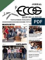 Capa - Jornal Ecos - 1.º Período - 2005-2006