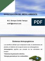 Sistemas Antropogénicos
