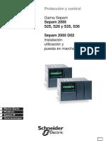 Instalación y Utilización Sepam 2000