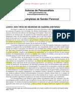 01] Ferenczi-1916 Dos Neurosis Guerra