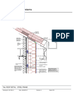 Roof Detail - Steel Frame NPN