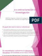 El diseño o estructuración de la investigación (2).pptx