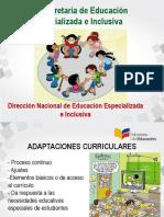 Adaptaciones Curriculares Ministerio