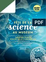 Fête de la Science 2016 au Jardin des Planted