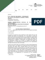 ____ E.S.E.hospital San Rafael - Fusagasugá - Respuesta de Oficio OETH-2015-142