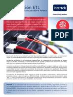 2014 FL Certificación ETL