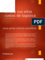 Chile y Sus Altos Costos de Logistica