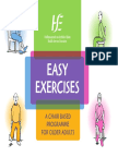 Easy Chair Based Exercises