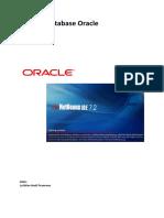 Aplikasi Database Oracle Netbean