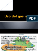 Usos y Ventajas Del Gas Natural