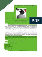 Satuan Acara Penyuluhan Diabetes Melitus Yang Lengkap