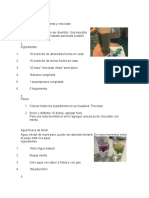 10 Bebidas Frias, 10 Bebidas Calientes 20 Recetas de Comida 20 Recetas de Postres
