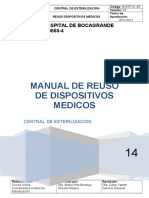 Manual de Reuso de Dispositivos Medicos 2014