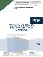 Manual de Reuso de Dispositivos Medicos 2014