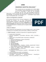 Guía Plan de Desarrollo Comunitario