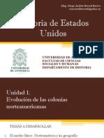 Cronograma de sesiones y exposiciones Historia de EEUU (Avances)