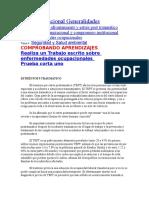 Salud Ocupacional Generalidades
