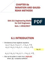 Module 6a_gauss Elimination and Gauss Jordan-student Version