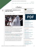 Confirmado_ casarse ya no está de moda _ +Datos _ Blogs _ elmundo