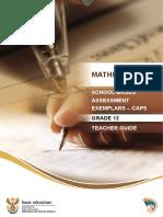 SBA Mathematics Teacher Guide English