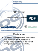 PCB Design - Electrical Design Considerations (Corrected) (1)