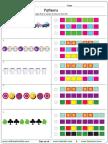 Similar Patterns Worksheet