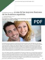Enamorarse Es Una de Las Mayores Ilusiones de Los Hombres Españoles - ABC