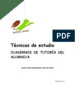 Técnicas de estudio 4º ESO Cuaderno del alumno