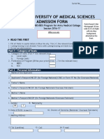 Admission Form MBBS-BDS1475060134