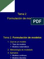 Clase - Introduccion a Un Modelo