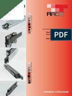Linear Rail System Catalog 2014 Trace