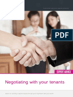 Negotiating With Your Tenant