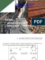 Adherencia y Anclaje(Concreto Armado I)