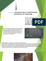 Diapositivas de La Contaminación en Hong Kong