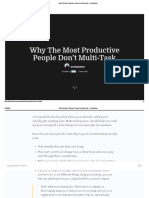Why the Most Productive People Don't Multi-task - Inc42 Media