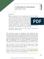Bek, M. G. (2004). Research Note. Tabloidization of News Media. Turkey.pdf