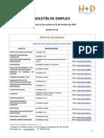 Boletín de Empleo Nº 14 - Fundación H+D