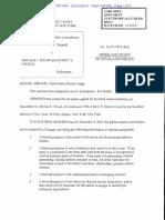 Doe Vs. Trump - Judge's Order