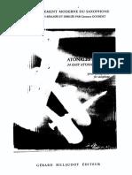 24 Études Atonales Faciles - Guy Lacour
